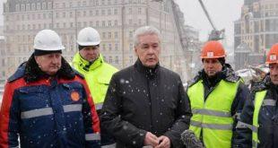 Собянин: Ремонт искусственных сооружений в Москве увеличен в 10 раз